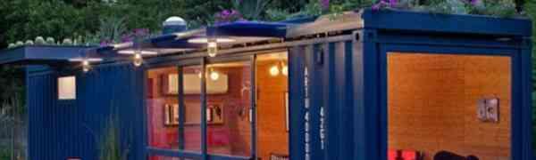 Odbačeni transportni kontejner pretvorili u gostinsku kućicu