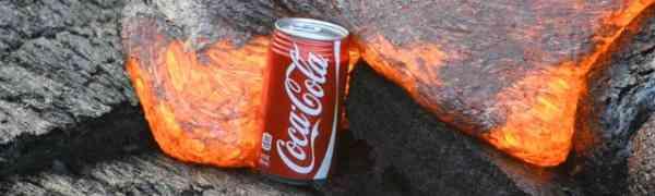 Pogledajte što se dogodi kada se lava susretne s limenkom Coca-Cole!