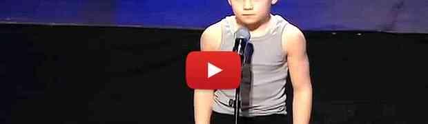 Ovaj sedmogodišnji dječak pokazao da ima nevjerovatan talenat (VIDEO)