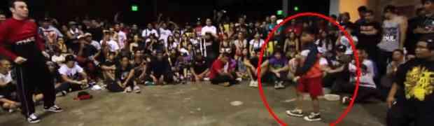 Klinac izazvao na dvoboj profesionalnog plesača, pogledajte kako se završio!