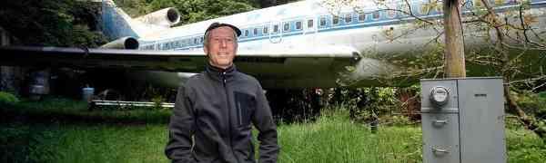 Život u Boeingu 727: Avion je pretvorio u svoj dom iz snova
