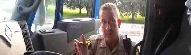 Kamiondžija zaustavio bahatog policajca zbog prebrze vožnje (VIDEO)
