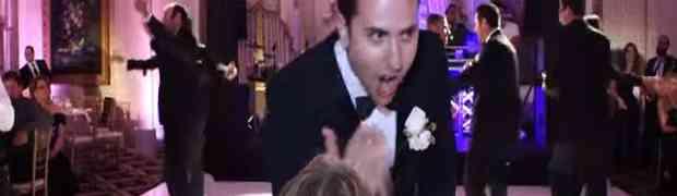 Mladoženja na vjenčanju pripremio epsko iznenađenje za svoju buduću ženu