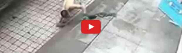 Htio je čovjeku nožem probušiti gumu no onda je debelo nadrljao!