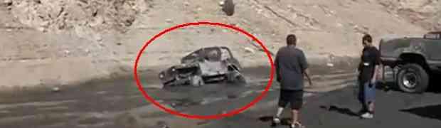 Ovako ne treba izvlačiti terenca iz blata (VIDEO)