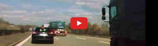 Na njemačkom autobahnu jurio preko 160 km/h pa mu se dogodilo ovo!