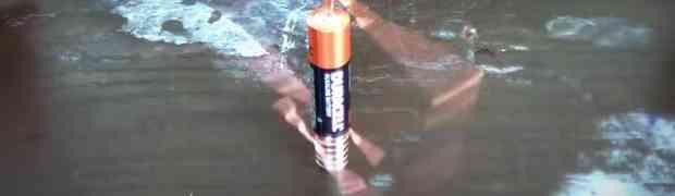 Najjednostavniji elektromotor od žice, kojeg je vrlo lako napraviti!