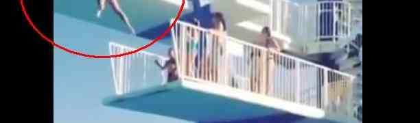 VIDEO: Pogledajte zašto nije dobro oklijevati na skakaonici