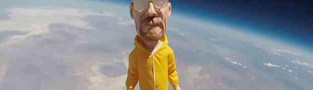 Legendarnog Walter Whitea poslali u svemir! (VIDEO)