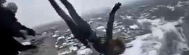 Bungee skokovi na ruski način (VIDEO)