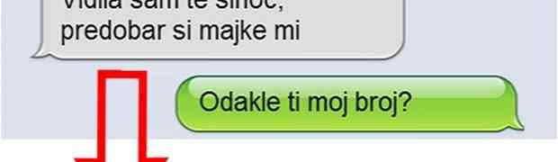 HIT SMS: Djevojci se svidio dečko pa je odlučila da mu pošalje SMS, a evo šta joj je odgovorio…