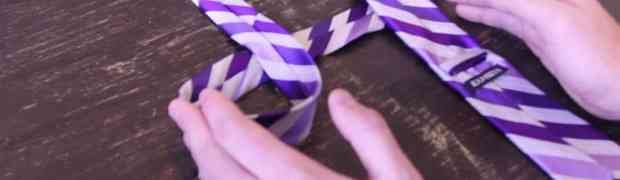 SUPER TRIK: Kako vezati kravatu za manje od 10 sekundi (VIDEO)