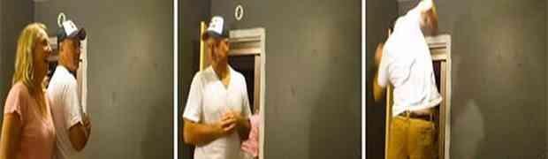 Čekao je da njegova supruga izađe iz sobe, a onda je uradio najluđu stvar!