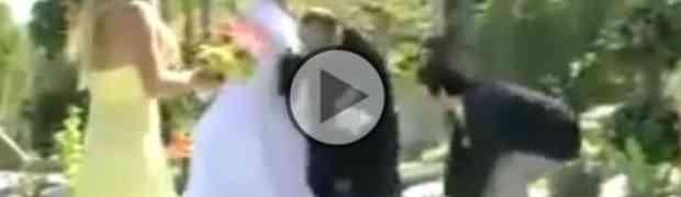5 najsmiješnijih nezgoda na vjenčanjima (VIDEO)