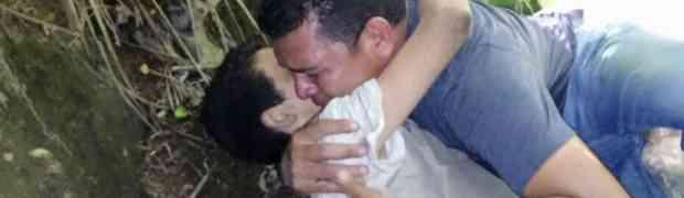 TRAGEDIJA: Posljednji momenti oca sa sinom kojeg su bacili sa mosta će vas rasplakati (FOTO) (VIDEO)