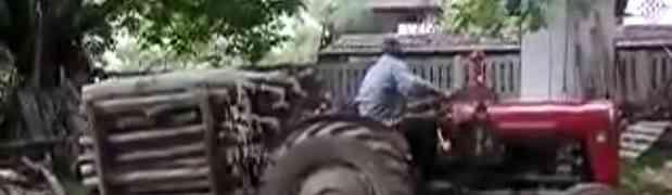 Ono kada Bosanci istovaraju drva! (VIDEO)