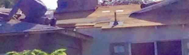 Slikao je svog 75-godišnjeg komšiju na krovu. Nije mogao ni sanjati šta će uslijediti za samo par minuta!