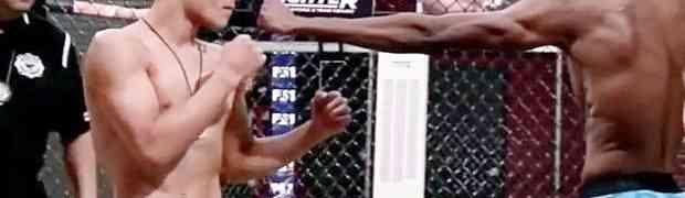 Bahati borac ismijavao je svog protivnika tokom vaganja. Kada je ušao u ring, čovjek ga je POJEO! (VIDEO)
