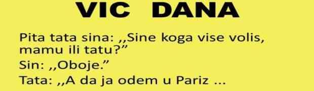 VIC DANA: Pita tata sina..