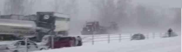 Evo zbog čega UVIJEK trebate biti oprezni tokom vožnje po snijegu! Ovo se može dogoditi i vama! (VIDEO)