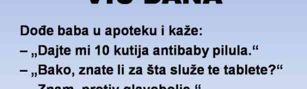VIC DANA: Antibebi pilule