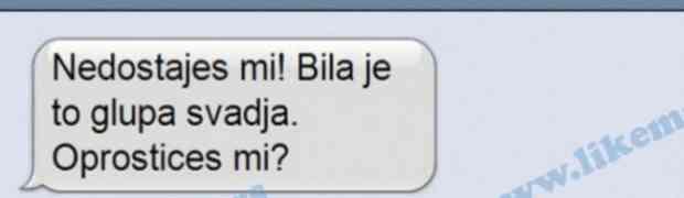 SMS DANA: Jadnik se ponadao (FOTO)