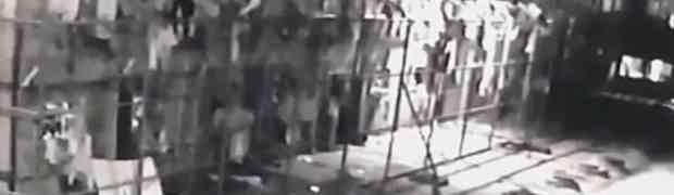 Mislili su da na snimku gledaju zatvorenika kako pokušava pobjeći iz zatvora. Istina je bila daleko strašnija... (VIDEO)