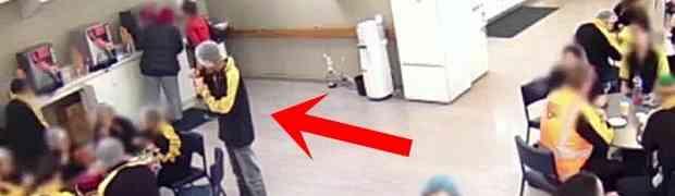 Saznao je da mu je kolega s posla pojeo sendvič. Kada vidite šta mu je zbog toga uradio ŠOKIRAĆETE SE! (VIDEO)