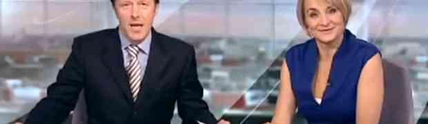 Tokom vijesti voditelj je pustio vjetar. Izraz na licu njegove kolegice je NEPROCIJENJIV! (VIDEO)