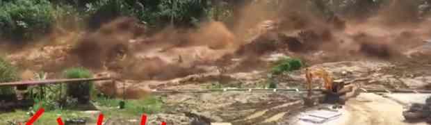 Pogledajte trenutak kada je popustila brana u Laosu, uzrokovajući razaranje i poplavu kakvu do sada još NISTE VIDJELI (VIDEO)