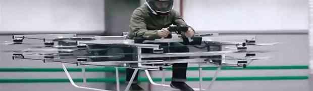 Legendarna ruska kompanija oružja KALAŠNJIKOV predstavila leteći dron kojim upravlja čovjek! Ovako čudo još niste vidjeli! (VIDEO)