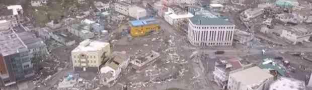 Šokantni snimci napravljeni dronom prikazuju kakvo razaranje i uništenje je iza sebe ostavio uragan IRMA (VIDEO)
