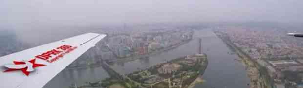 Do sada neviđeni snimak Sjeverne Koreje iz aviona. Sve izgleda prilično normalno osim jedne stvari... (VIDEO)