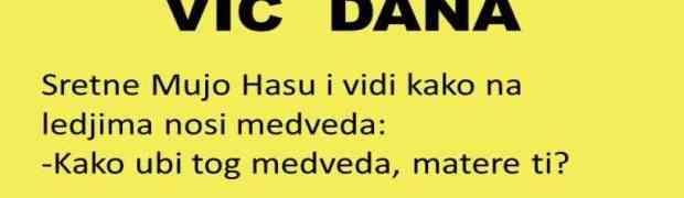 VIC DANA: Kad Mujo vikne BUUU....
