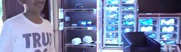 Najbogatije dijete Dubaija pokazaće vam svoju najskuplju kolekciju patika na svijetu. Ovako nešto još niste vidjeli! (VIDEO)