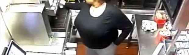 Došla je u McDonald's da naruči hranu, no radnici su ostali u šoku kada su pogledali snimak sa NADZORNE KAMERE! (VIDEO)