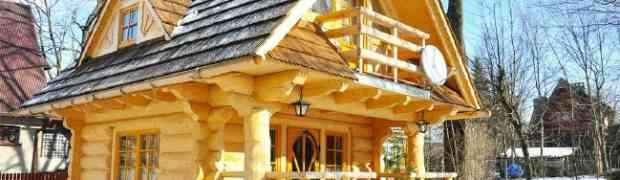 Ova prelijepa drvena kuća ima samo 27m2, ali sasvim dovoljno da bude kao iz BAJKE!