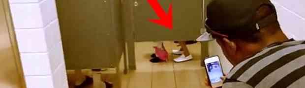 Ušli su u javni WC i tamo zatekli par usred žestokog se*sa. Kada su otvorili vrata kabine, OSTALI SU BEZ RIJEČI (VIDEO)