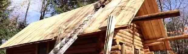 On je sam i bez ičije pomoći napravio ovu prekrasnu kolibu u šumi. Video koji ćete GLEDATI U JEDNOM DAHU (VIDEO)