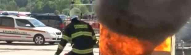 MAGIČNA LOPTA: Pogledajte kako izgleda najnovija i najefikasnija metoda gašenja požara (VIDEO)