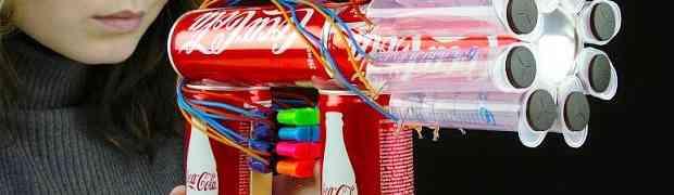 Pogledajte kako od limenki Coca-Cole napraviti SNAŽNU MINI PUŠKU (VIDEO)