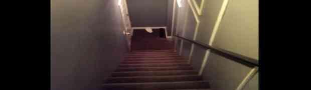 Ove stepenice izgledaju sasavim normalno, ali skrivaju nešto nevjerovatno! Čekajte samo kada SIĐE NIZ NJIH DO KRAJA!