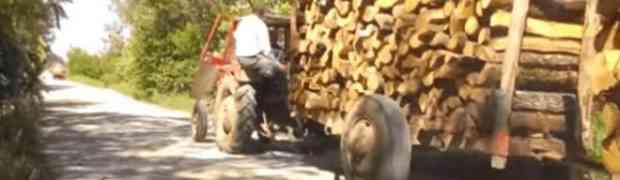 Traktorista nasmijao cijeli balkan: Postao apsolutni hit na internetu! Pogledajte šta radi… (VIDEO)
