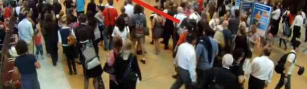 Ono što se dogodilo u gužvi ovog prepunog željezničkog kolodvora, OSTAVIĆE VAS BEZ RIJEČI! (VIDEO)