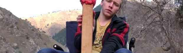 Napravio je najveću šibicu na svijetu, a onda je zapalio... Ovo je nešto najbolje što ćete vidjeti danas (VIDEO)