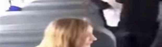 Gađala je u busu jabukom muškarca koji joj se svidjeo. Ono što joj je uradio PAMTIĆE DOK JE ŽIVA! (VIDEO)