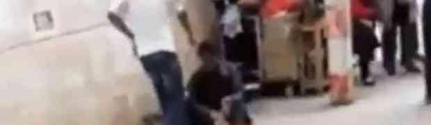 Prvo je nogom udario beskućnika, a onda ga i ošamario. Ono što je uslijedilo PAMTIĆE DOK JE ŽIV (VIDEO)