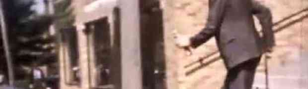 Rijetka snimka u boji najvišeg čovjeka svih vremena: Pogledajte džina koji je bio visok 2 metra i 72 centimetra! (VIDEO)