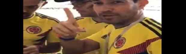 Čekajte da vidite kako su ovi Kolumbijci na stadion prošvercovali bocu alkohola. OVO JOŠ NIJE VIĐENO!